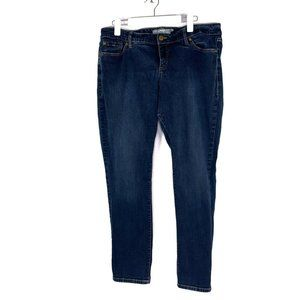 Torrid Boyfriend Fit Medium Wash Skinny Jeans 16